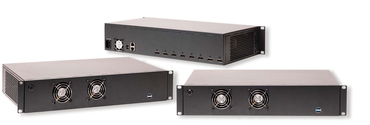 Wisenet WAVE integrated with BlueBox Video wall controllers