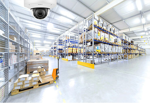 Advances in video surveillance technology are delivering significant benefits to the Logistics sector